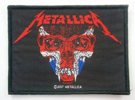 Metallica - 'UK Skull Face' Woven Patch